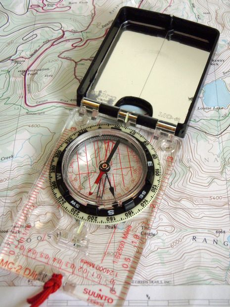 Compass and Map